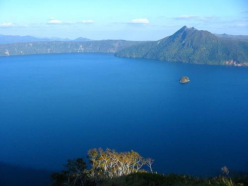 摩周湖、カルデラ湖